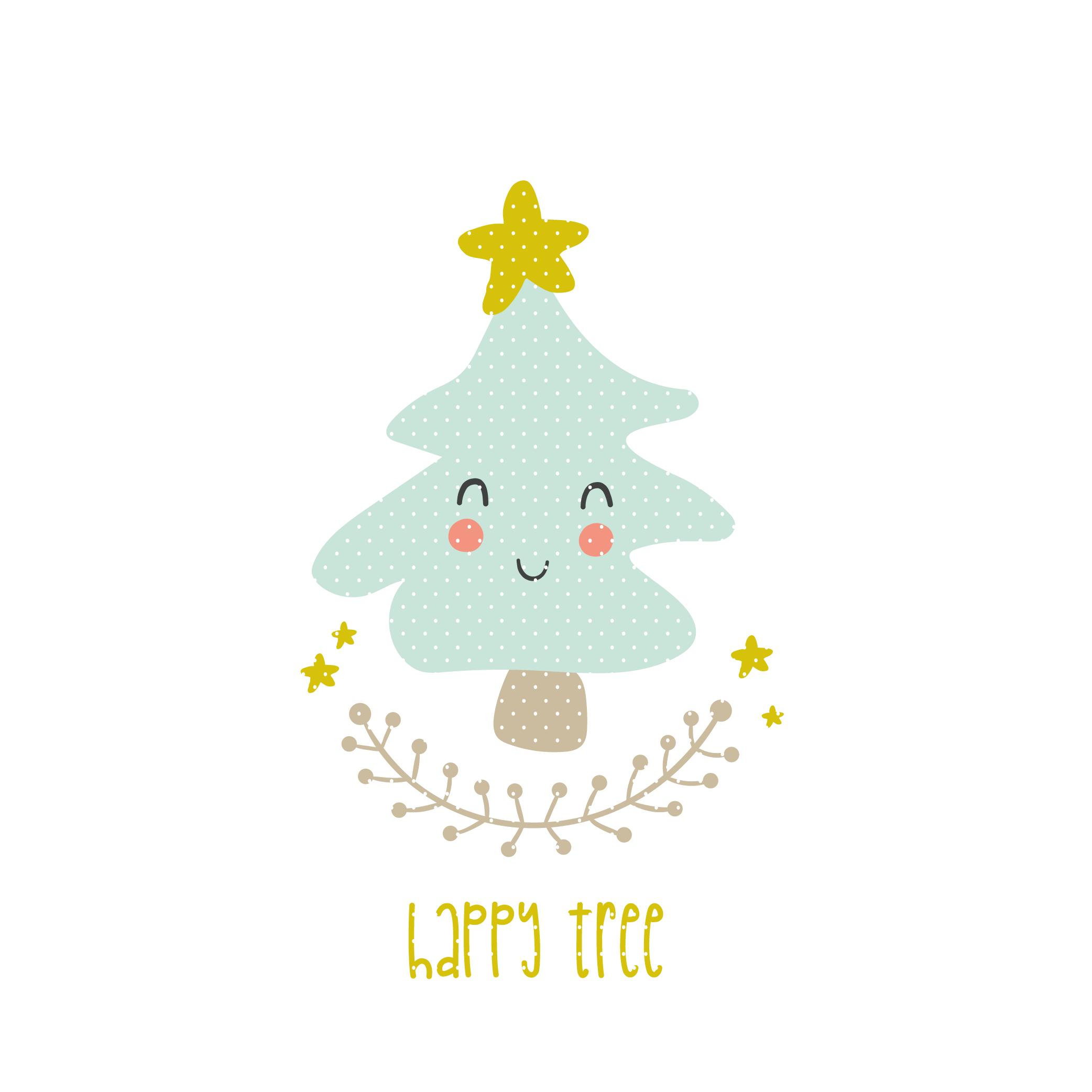 Tannenbaum Dxf.Plotterdatei Happy Tree Im Dxf Und Svg Format